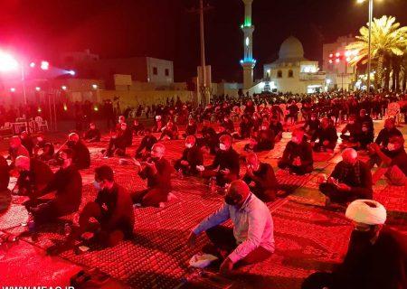 گزارش تصویری شب عاشورا مسجد امام علی ابن ابیطالب (ع) قشم