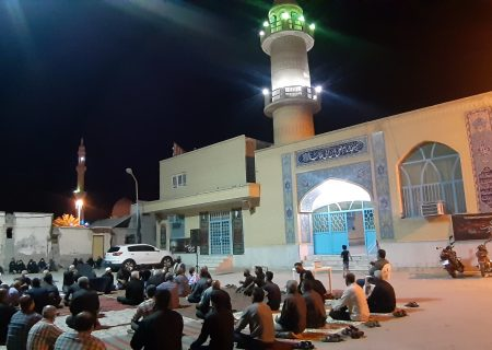 گزارش تصویری مراسم اربعین حسینی (ع) مسجد امام علی ابن ابیطالب(ع) قشم